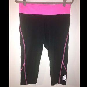 PINK Victoria's Secret Capri yoga pants